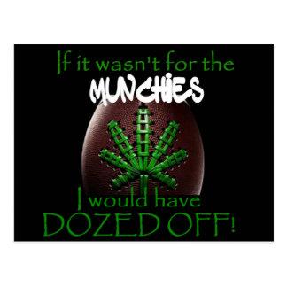 Super Bowl Munchies Postkarte