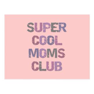 Super coole Mamma-Verein-T - Shirts und Geschenke Postkarte