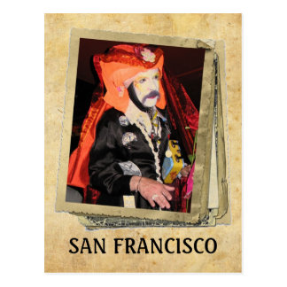 Super coole San Francisco Postkarte! Postkarte
