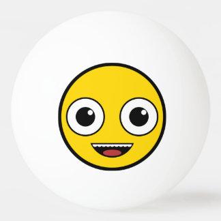 Super glückliches Gesicht Ping-Pong Ball