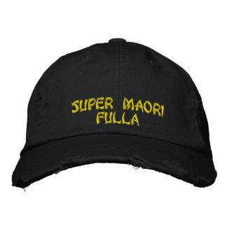 Super Maori- Fulla Bestickte Baseballkappe