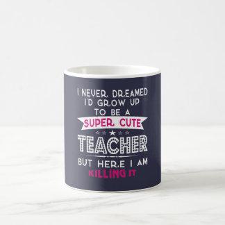 Super niedlicher Lehrer Tasse