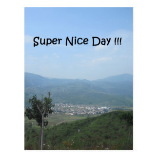 Super schöner Tag!!! Postkarte