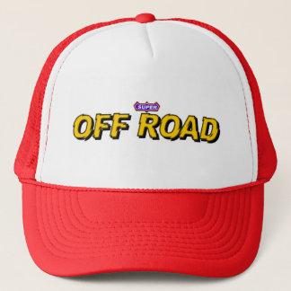 Super weg von der Straße Truckerkappe