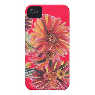 Supergrößen-roter Gänseblümchen IPhone Kasten Case-Mate iPhone 4 Hüllen