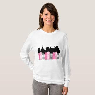 Superheld-Stadt T-Shirt