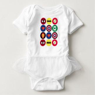 Superhelden Baby Strampler