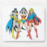 Superheroines-Pose Mousepad