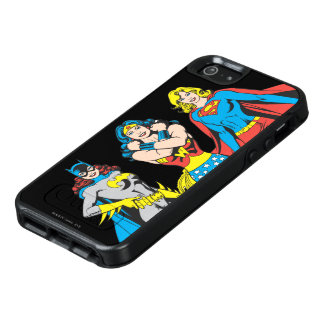 Superheroines-Pose OtterBox iPhone 5/5s/SE Hülle