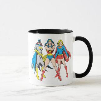 Superheroines-Pose Tasse