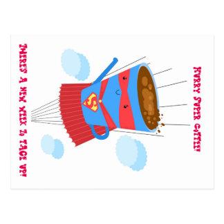 Superkaffee-Postkarte Postkarten