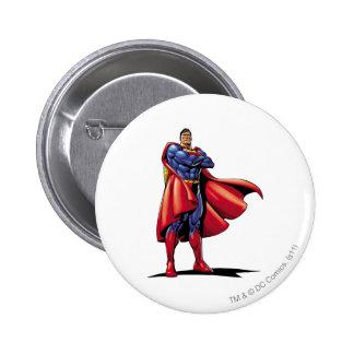 Buttons mit Superman-Designs bei Zazzle