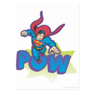 Supermann 57 postkarte