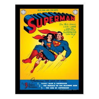 Supermann #57 postkarten