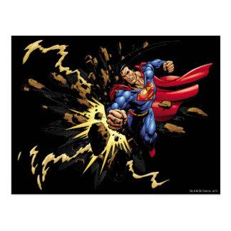 Supermann 68 postkarte