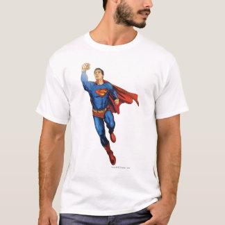 Supermann-Fliegen verlassen T-Shirt