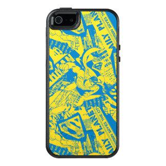 Supermann-Gelb und Blau OtterBox iPhone 5/5s/SE Hülle