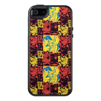 Supermann-Gelb und Rot OtterBox iPhone 5/5s/SE Hülle