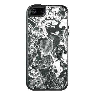 Supermann-Grau-Collage OtterBox iPhone 5/5s/SE Hülle
