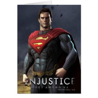 Supermann Grußkarte
