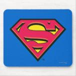 Supermann-Klassiker-Logo Mauspads