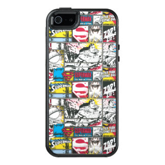 Supermann-Logo-Muster 2 OtterBox iPhone 5/5s/SE Hülle