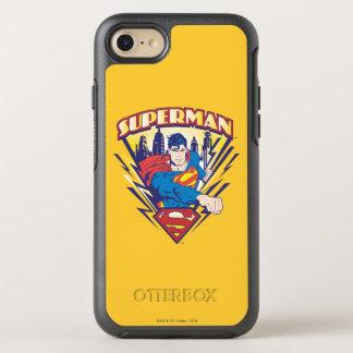 Supermann mit Strom OtterBox Symmetry iPhone 8/7 Hülle