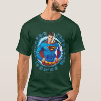 Supermann-Mut-Stärken-Power T-Shirt
