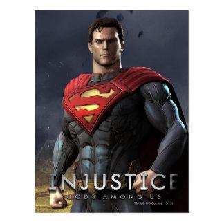 Supermann Postkarte