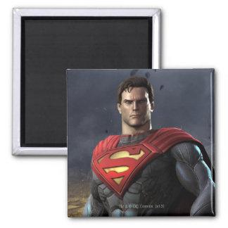 Supermann Quadratischer Magnet