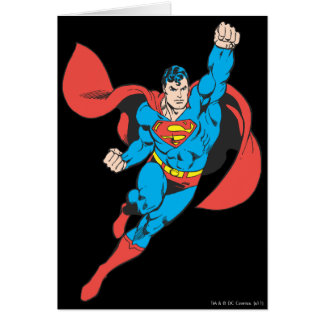 Superman Grußkarten von Zazzle