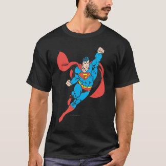 Supermann-rechte Faust angehoben T-Shirt