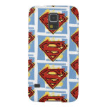 Supermann-rotes und blaues Muster Galaxy S5 Cover