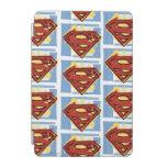 Supermann-rotes und blaues Muster iPad Mini Hülle