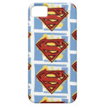 Supermann-rotes und blaues Muster iPhone 5 Cover