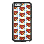 Supermann-rotes und blaues Muster OtterBox iPhone 6/6s Hülle