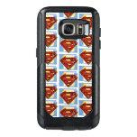 Supermann-rotes und blaues Muster OtterBox Samsung Galaxy S7 Hülle