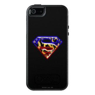 Supermann S-Schild | Lila-Rotes Graffiti-Logo OtterBox iPhone 5/5s/SE Hülle