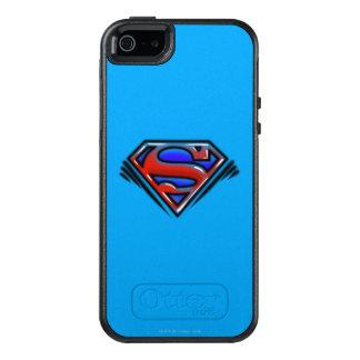 Supermann S-Schild | rotes Spritzpistolen-Logo OtterBox iPhone 5/5s/SE Hülle