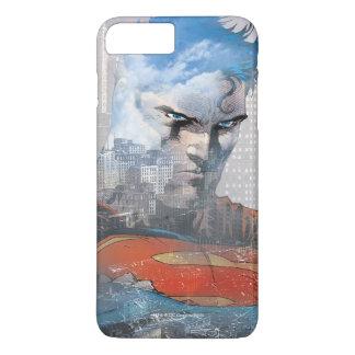 Supermann-Starren iPhone 8 Plus/7 Plus Hülle