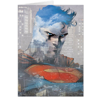 Supermann-Starren Karte