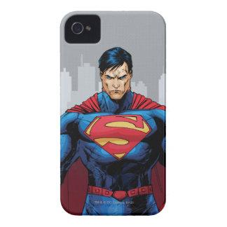 Supermann stehend iPhone 4 Case-Mate hüllen