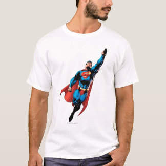 Supermann steigt an T-Shirt