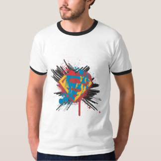 Supermann Stylized | Spritzer-Logo T-Shirt