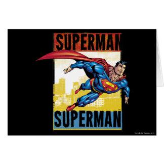 Supermann, Supermann Karte