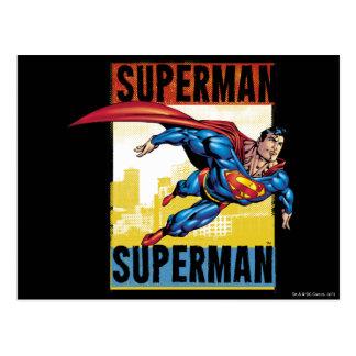 Supermann, Supermann Postkarte