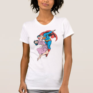 Supermann u. Lois im Rosa T-Shirt