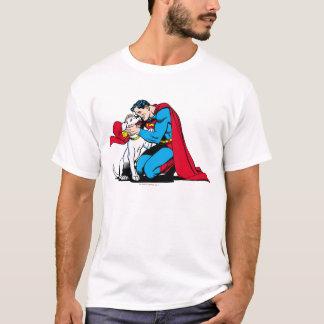 Supermann und Krypto T-Shirt