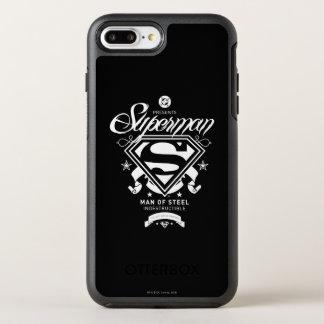 Supermann-Wappen OtterBox Symmetry iPhone 8 Plus/7 Plus Hülle