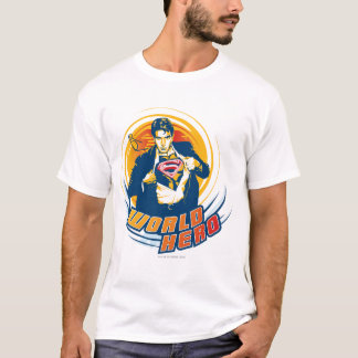 Supermann-Weltheld T-Shirt